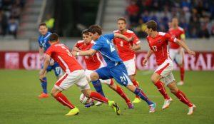 Im Mannschaftssport setzen sich die Isländer durch. Foto: Wikipedia / Tobias Klenze / CC-BY-SA 3.0