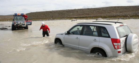 Im isländischen Hochland gibt es keine Sonntagsfahrten. Foto: www.safetravel.is