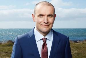 Guðni Th. Jóhannesson, Islands sechster Präsident seit der Unabhängigkeit von Dänemark.