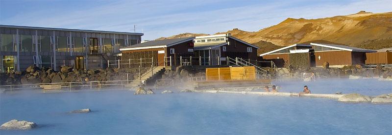 Island eignet sich für Badeurlaub rund ums Jahr. Foto: Mývatn Nature Baths